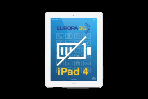 Reparar batería iPad 4