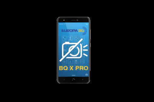 Reparar cámara BQ Aquaris X Pro