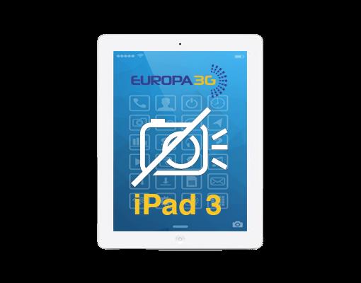 Reparar cámara iPad 3