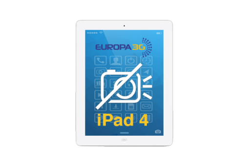 Reparar cámara iPad 4