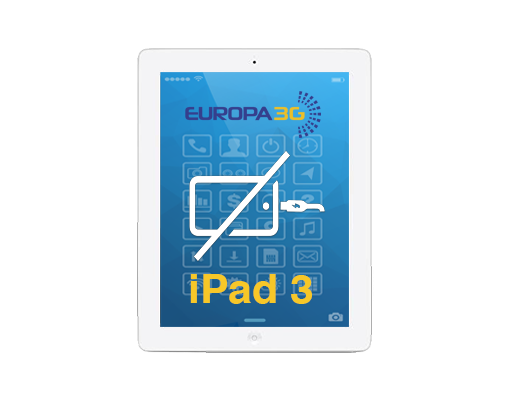Reparar conector de carga iPad 3