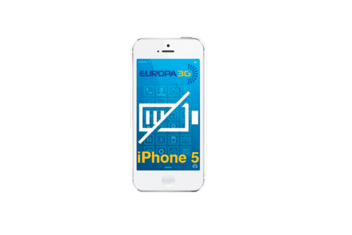 reparar Batería iPhone 5
