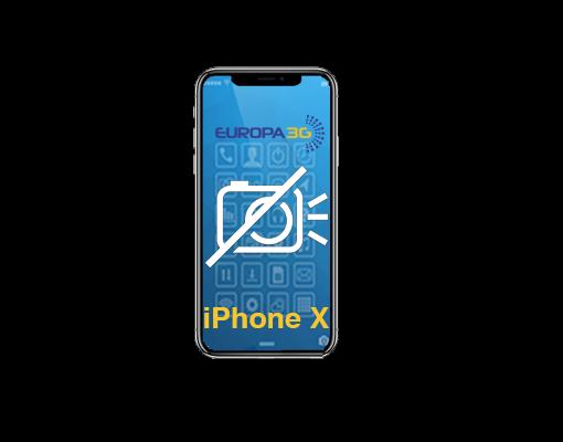 Reparar Cámara iPhone X