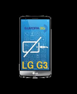 Reparar Conector carga LG G3