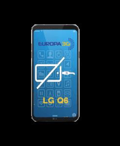 Reparar Conector carga LG Q6