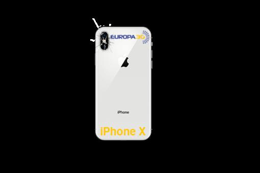 Reparar Cristal cámara iPhone X