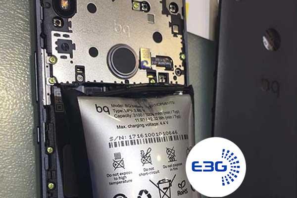 Cambiar la bateria del BQ Aquarius x5 plus
