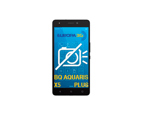 Reparar Cámara BQ Aquaris X5 Plus