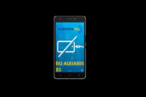 Reparar Conector carga BQ Aquaris X5