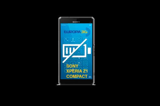 Reparar Batería Sony Xperia Z1 Compact.