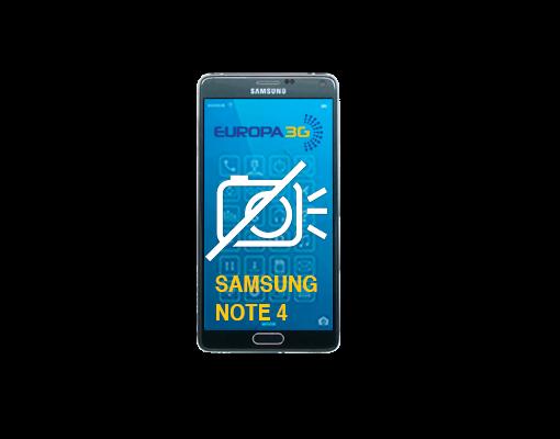 Reparar Cámara Samsung Galaxy Note 4