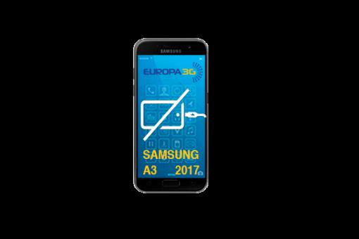 Reparar Conector carga Samsung Galaxy A3 2017