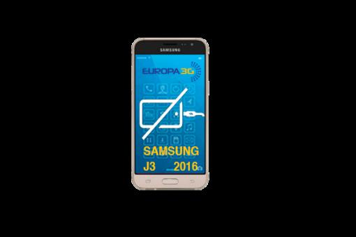 Reparar Conector carga Samsung Galaxy J3 2016