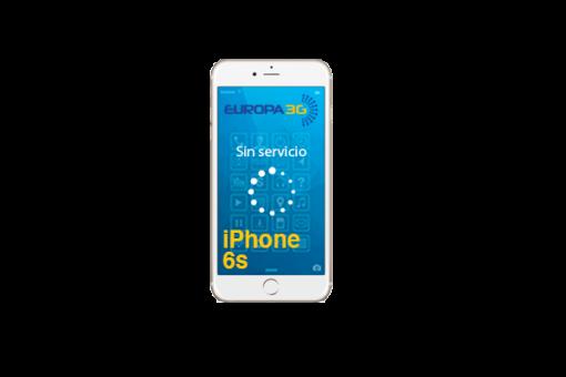 iPhone 6s aparece el mensaje Sin servicio o Buscando