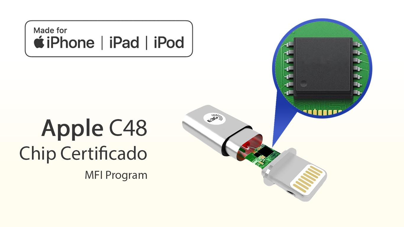 Cable certificado por apple