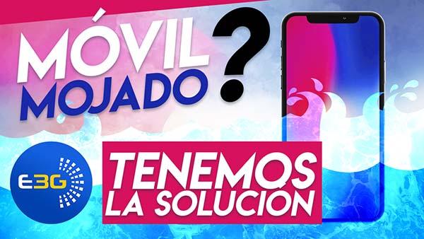 ¿Como reparar móvil mojado por agua? en 2018 Barcelona y Madrid