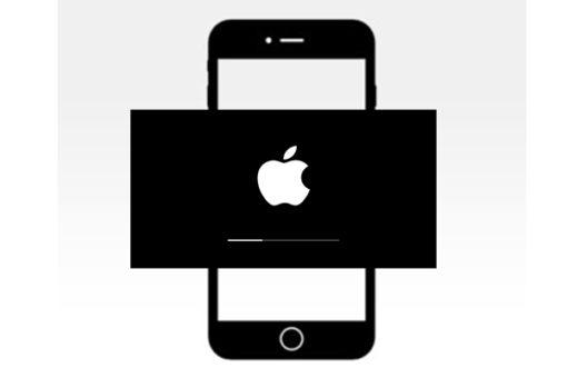 iPhone 7 queda en la manzana