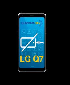 Reparar Conector Carga LG Q7