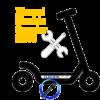 Sustituir Caballete Patinete Eléctrico Xiaomi M365