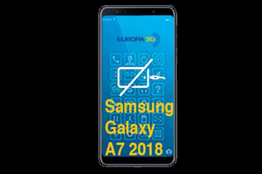 Reparar Conector carga Samsung Galaxy A7 2018