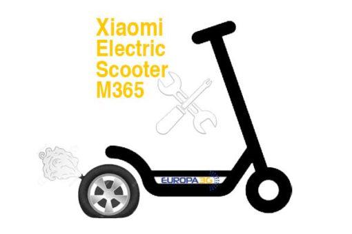 Reparar Pinchazo trasero Patinete Xiaomi M365