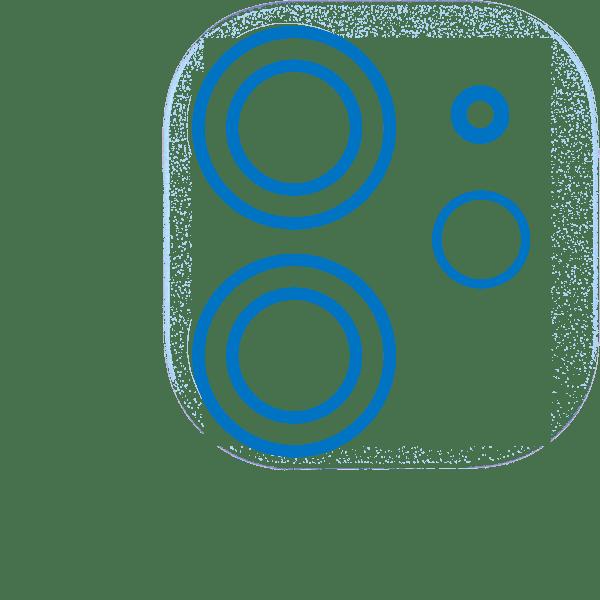 Cristal Cámara trasera iPhone 11 Pro Max