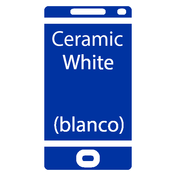 reparar Pantalla Samsung Galaxy S10 Plus Ceramic White blanco