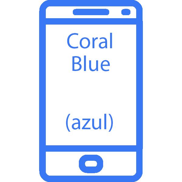 reparar Pantalla Samsung Galaxy S9 Plus Coral Blue azul