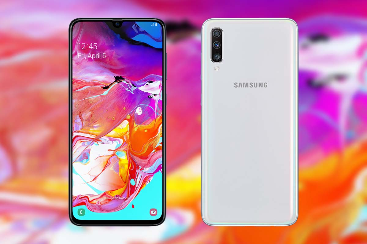 Cambiar pantalla A70 Galaxy