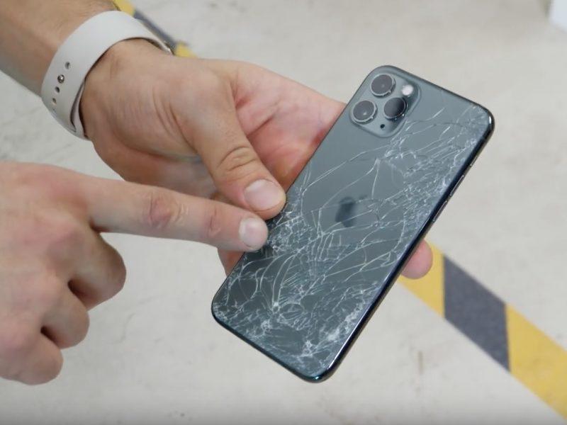 Cambiar parte trasera del iPhone 11 Pro y Pro Max