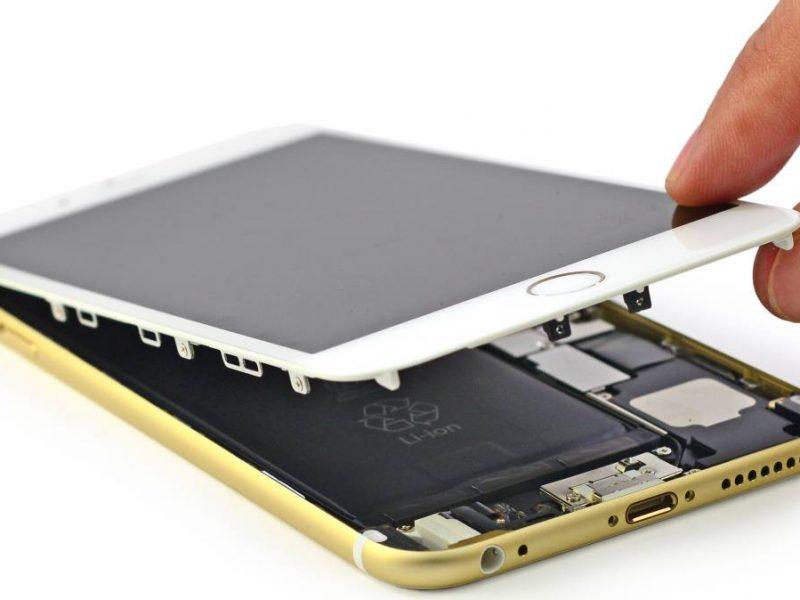 No funciona la pantalla táctil del iPhone 6 Plus