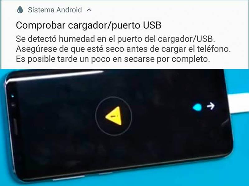 Deteccion de humedad en tu movil Samsung y como arreglarlo