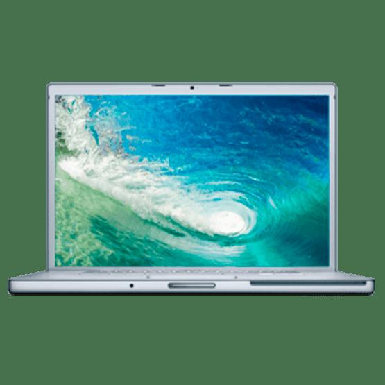 reparar macbook pro 17 finales 2008