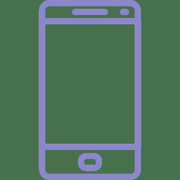 reparar pantalla samsung galaxy A72 violeta