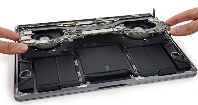 reparar la macbook pro
